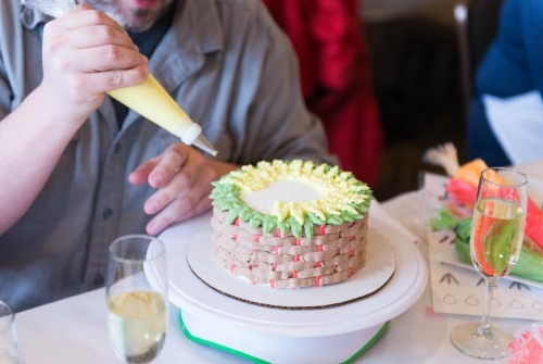 Cake Decorating Class at O.Henry Hotel
